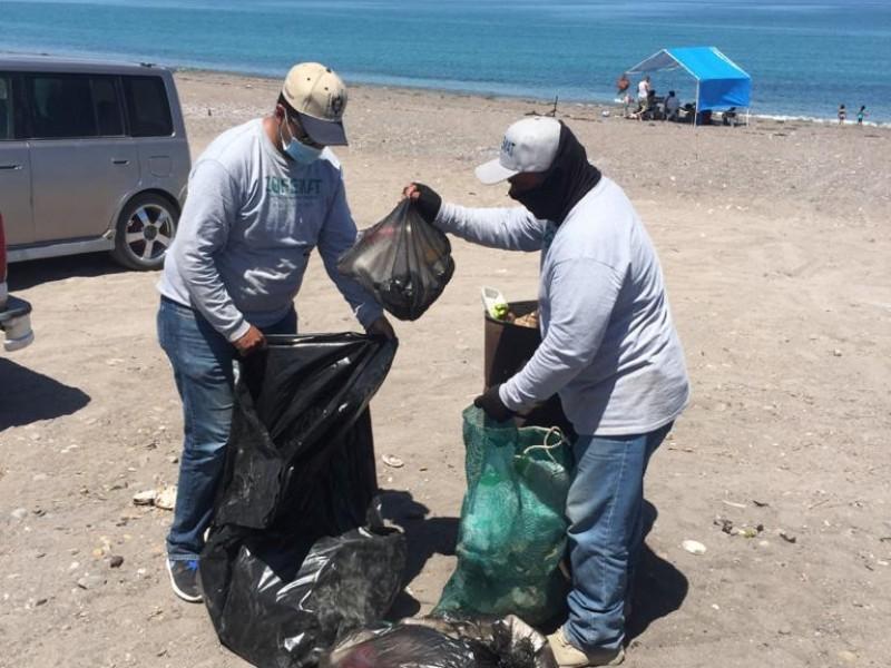 Recolectan 24 toneladas de basura en playas
