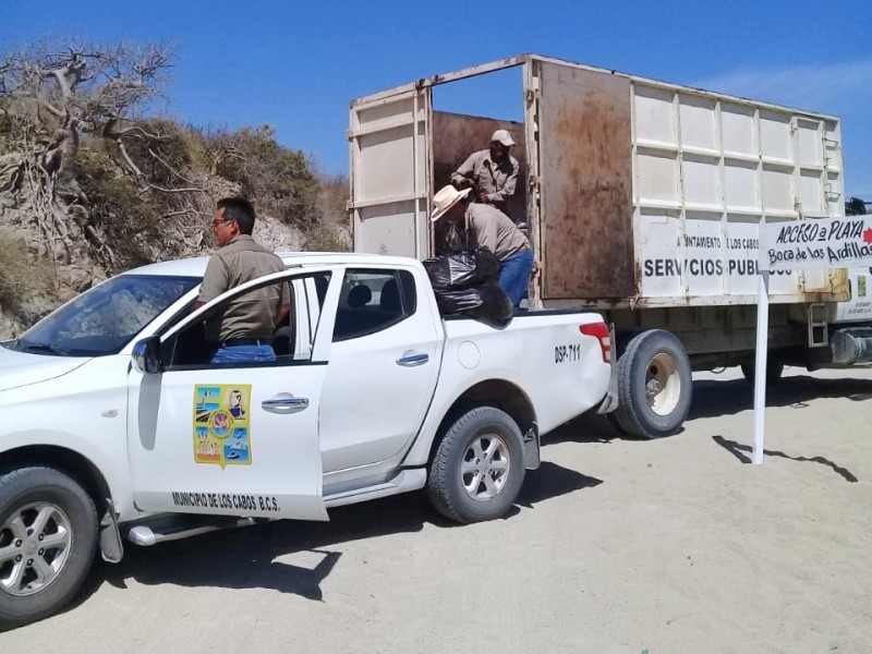 Recolectan 25 toneladas de basura en playas