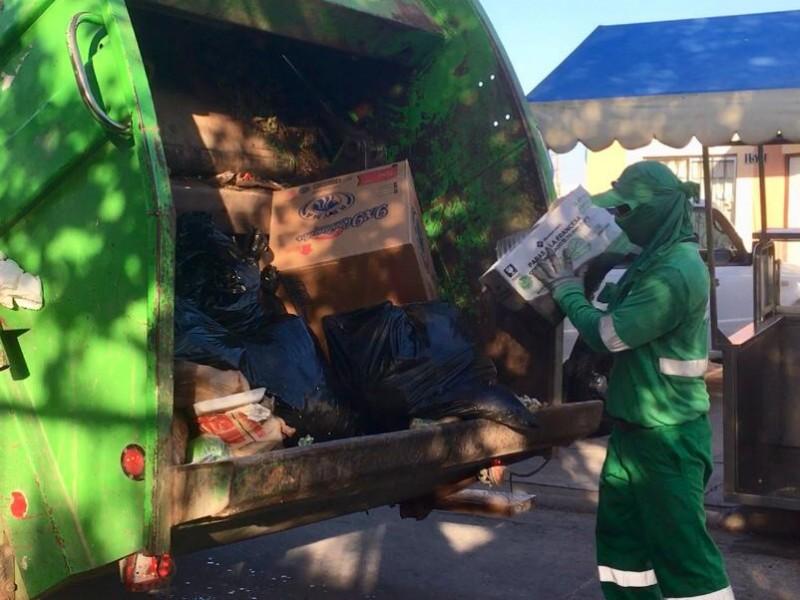Recolectores de basura,héroes en tiempos de pandemia