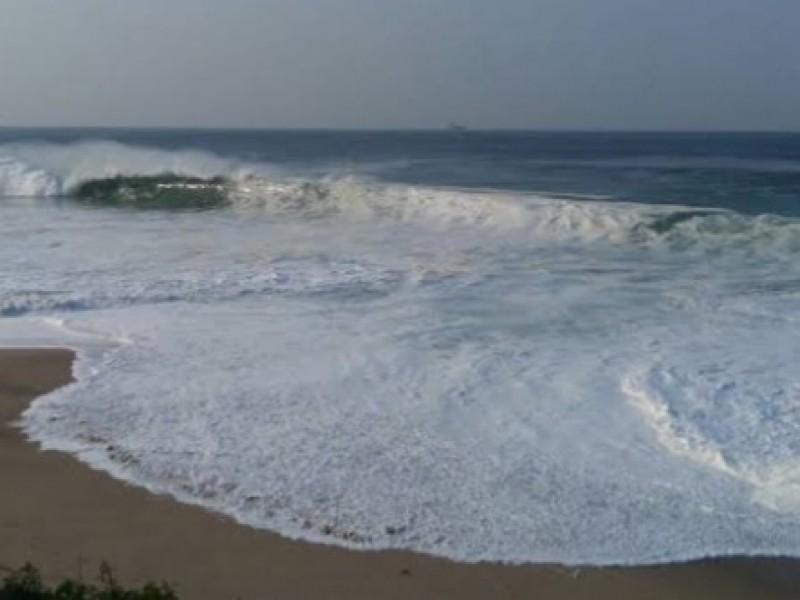 Recomendaciones ante fenómeno de mar de fondo por temporada