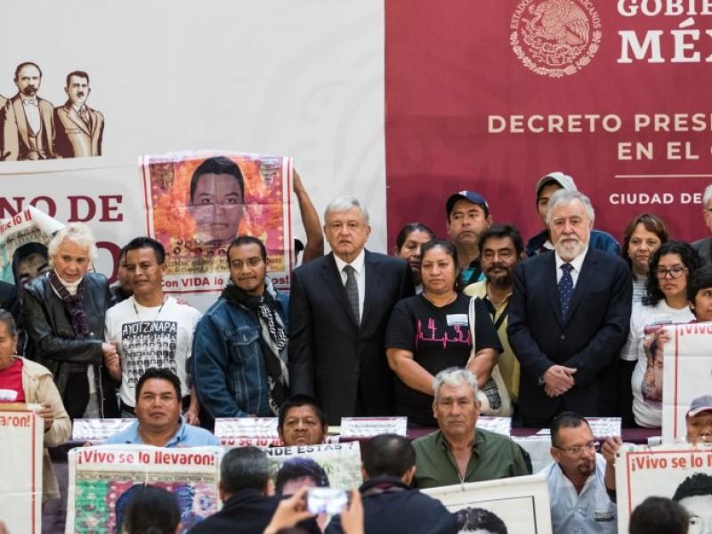 Recompensa millonaria por datos del caso Ayotzinapa