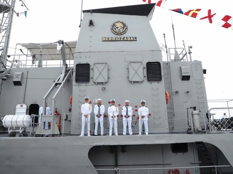 Reconoce AMH labor de la Marina