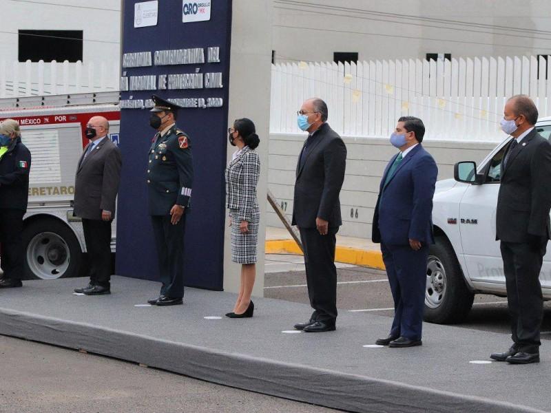 Reconoce Connie Herrera la importancia de la Protección Civil