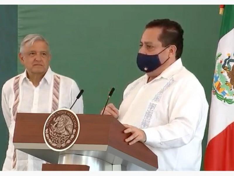 """Reconoce el presidente el """"buen"""" manejo de la pandemia"""