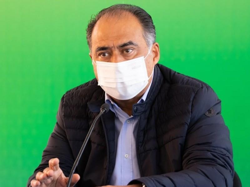 Reconoce Héctor Astudillo a Evelyn Salgado como gobernadora