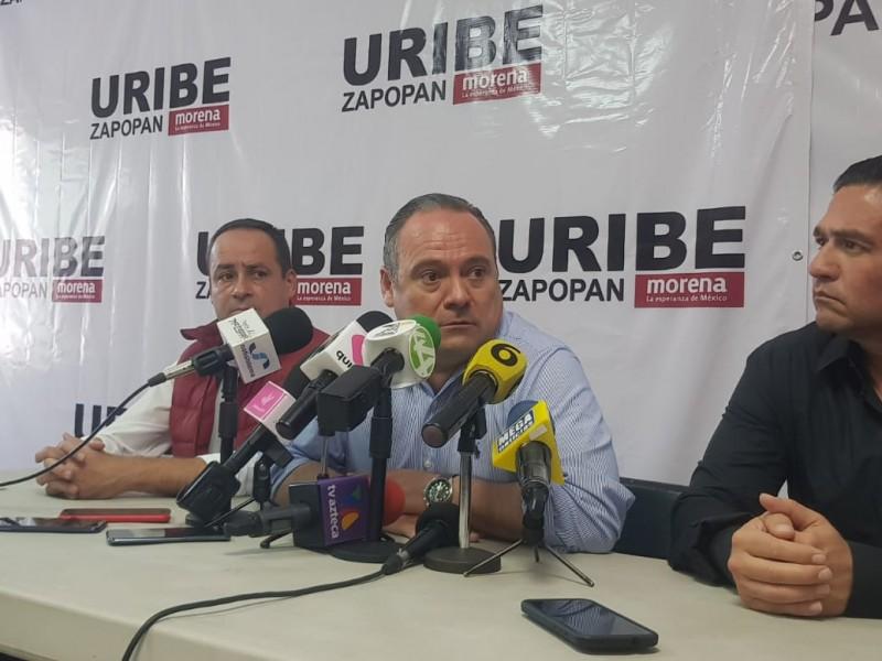 Reconoce Uribe su derrota y arremete contra Morena