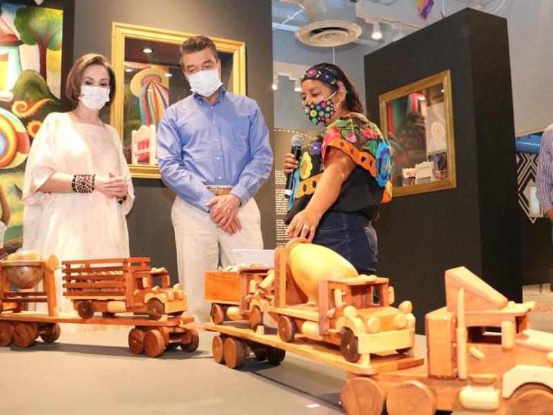 Reconocen a ganadores del concurso de juguetería tradicional