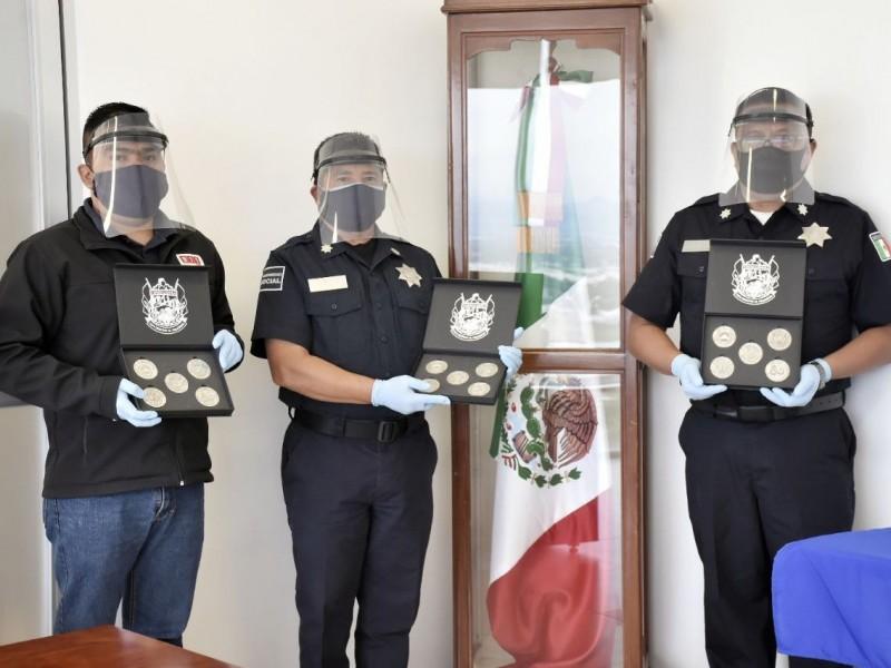 Reconocen a policías de Corregidora por rescate de menor