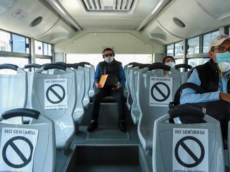 Reconocen autoridades deficiencias en el transporte público