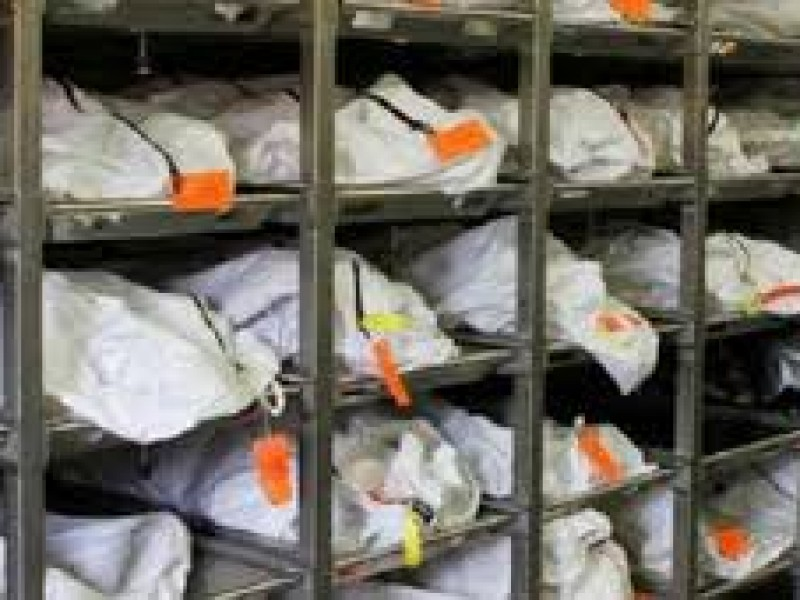 Reconocen crisis de identificación de cadáveres