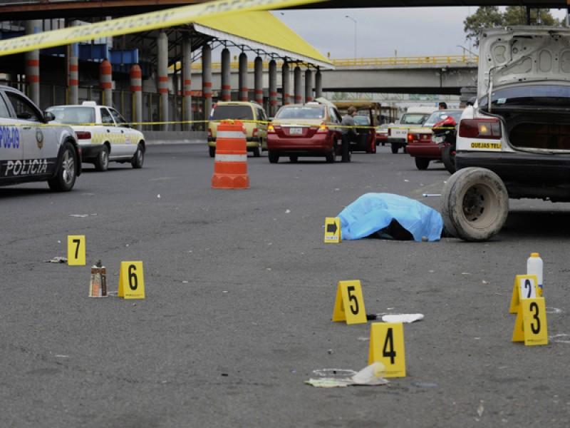 Reconocen crisis de violencia y homicidios en CDMX