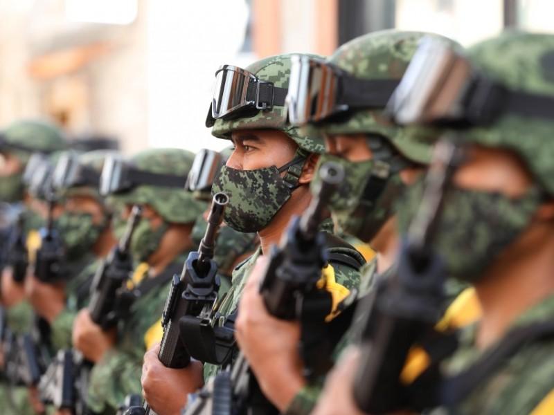 Reconocen labor del Ejército Mexicano con exposición en Guanajuato Capital