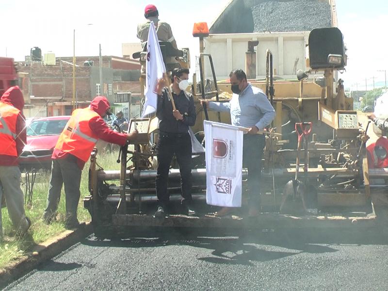 Reconstrucción de carretera Guadalupe - Sauceda de la Borda