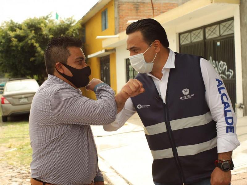 Recorre alcalde colonia Reforma Agraria