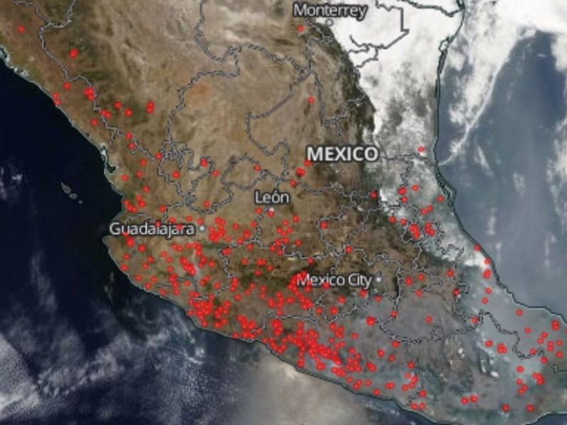Recorte a CONAFOR afecta atención de incendios