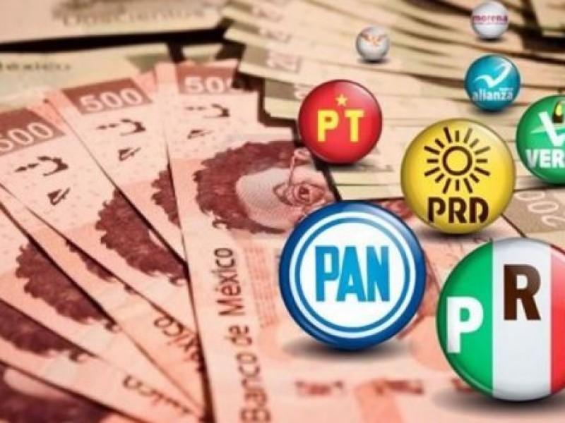 Recorte al presupuesto de partidos políticos