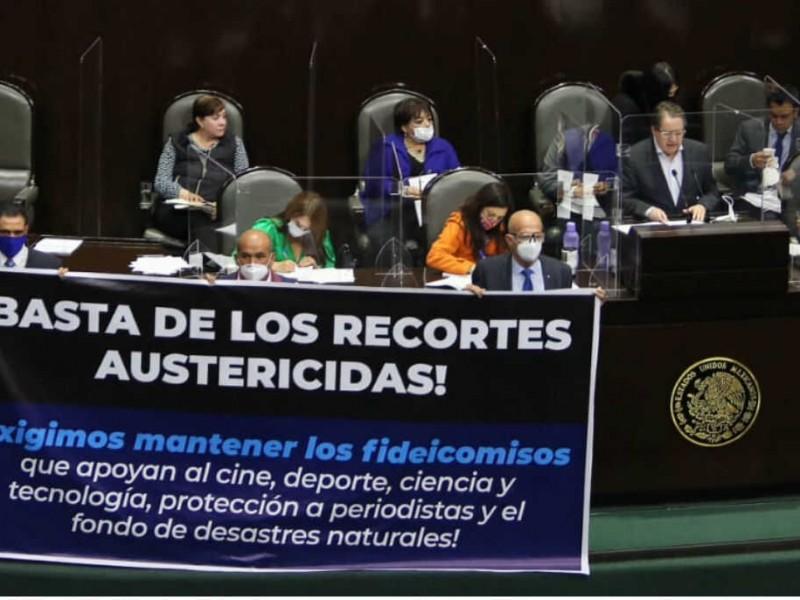 Recorte de fideicomisos es una decisión equivocada: Guadalupe Acosta Naranjo