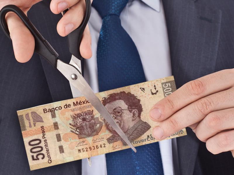 Recortes salariales sin causa justificada, causal de recesión laboral
