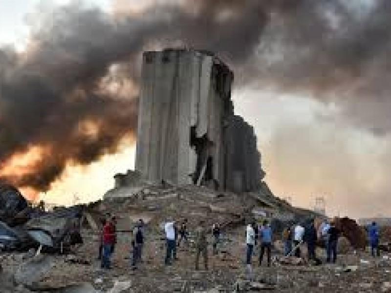 Recuento daños explosión Beirut