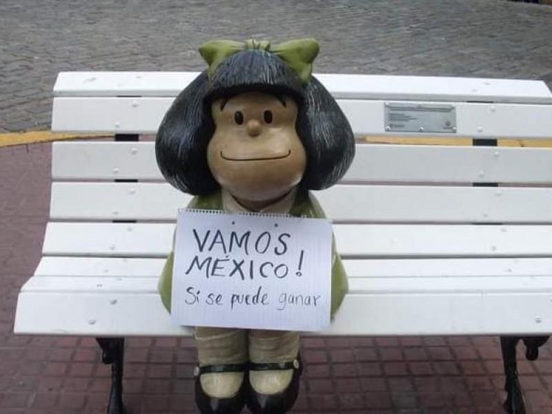 Recuerda sonorense aventuras en el barrio de Quino y Mafalda