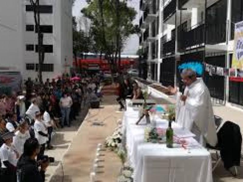 Recuerdan a víctimas multifamiliar de Tlalpan