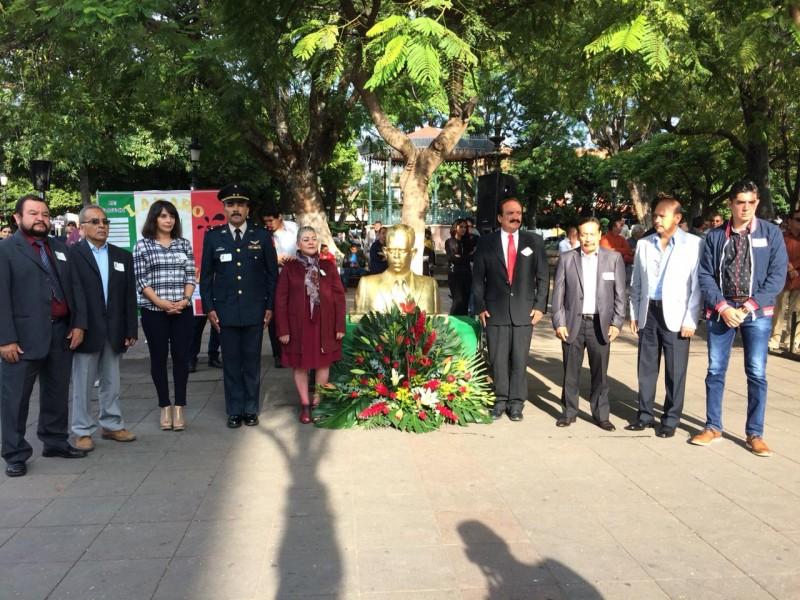 Recuerdan al General Lázaro Cárdenas en Zamora