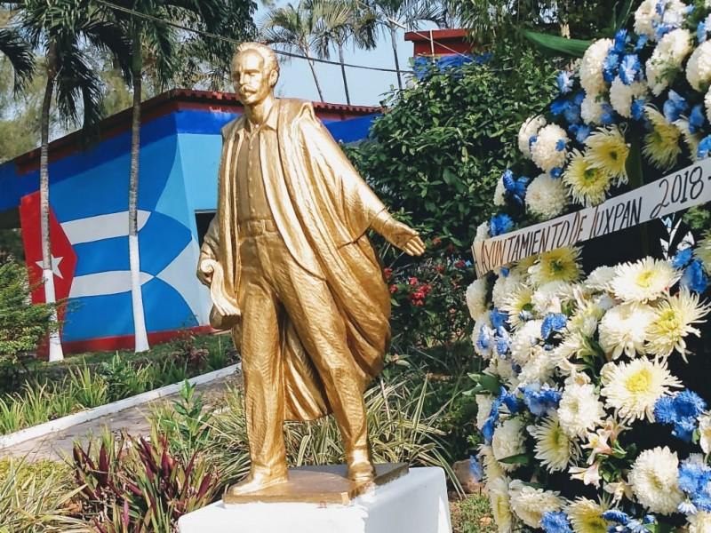 Recuerdan en Tuxpan, al apóstol cubano