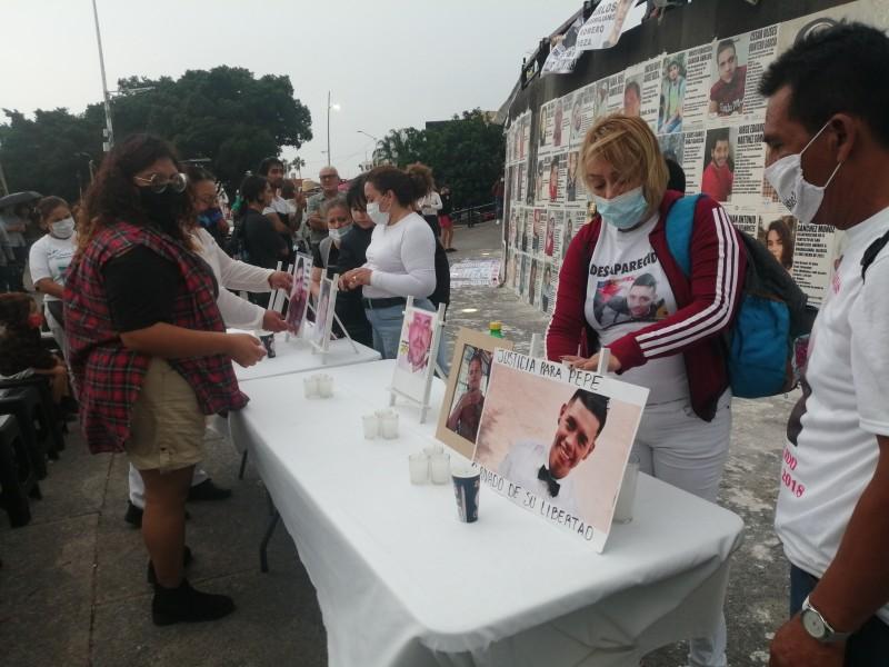 Recuerdan madres a sus hijos desaparecidos en Jalisco