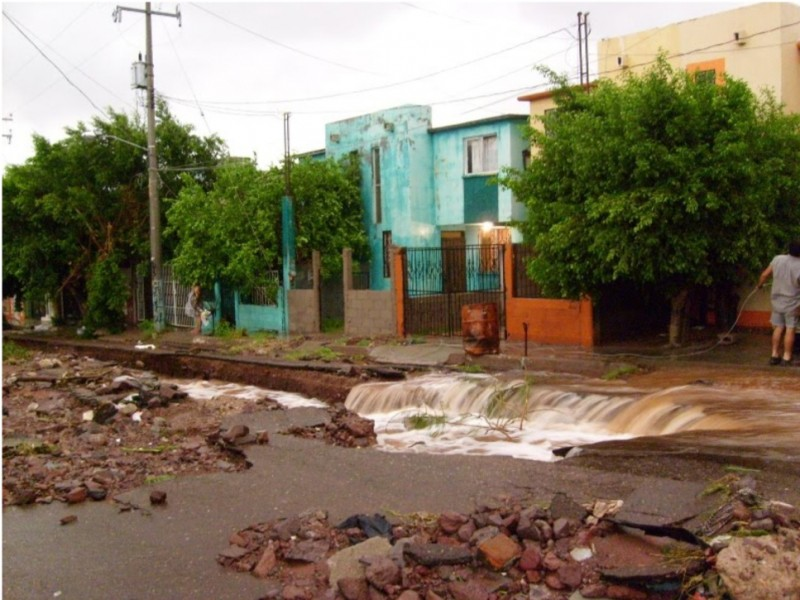 Recuerdan tormenta Jimena a 10 años