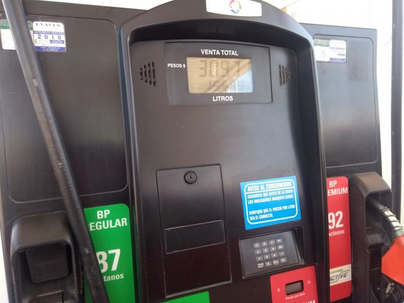 Recupera gobierno combustible y lo rematará