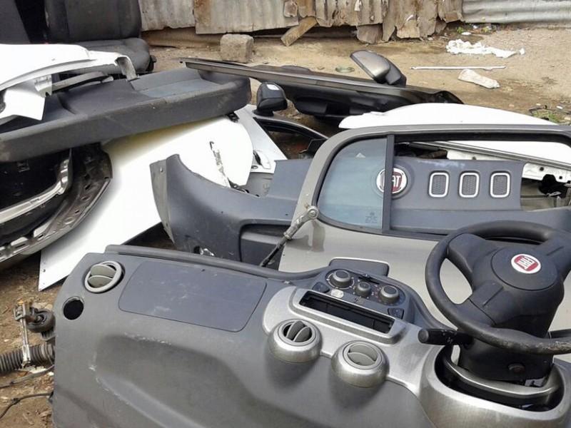 Recuperado predio usado para desmantelar vehículos