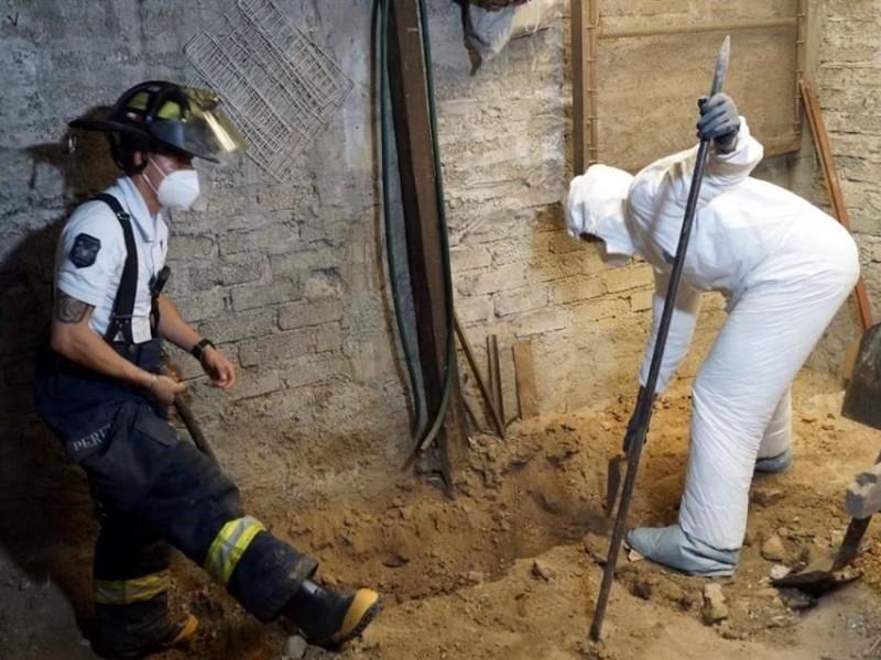 Recuperan 3,787 restos óseos en casa de feminicida serial