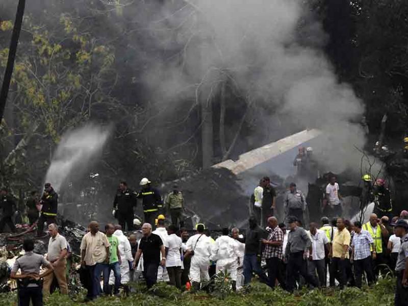 Recuperan caja negra de avión cubano accidentado