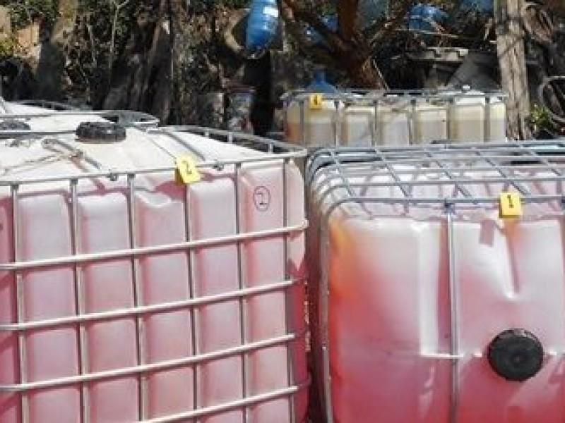 Recuperan hidrocarburo en el Estado de México