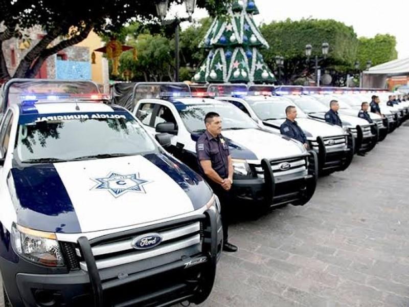 Recurso de Corregidora va en 48% para seguridad