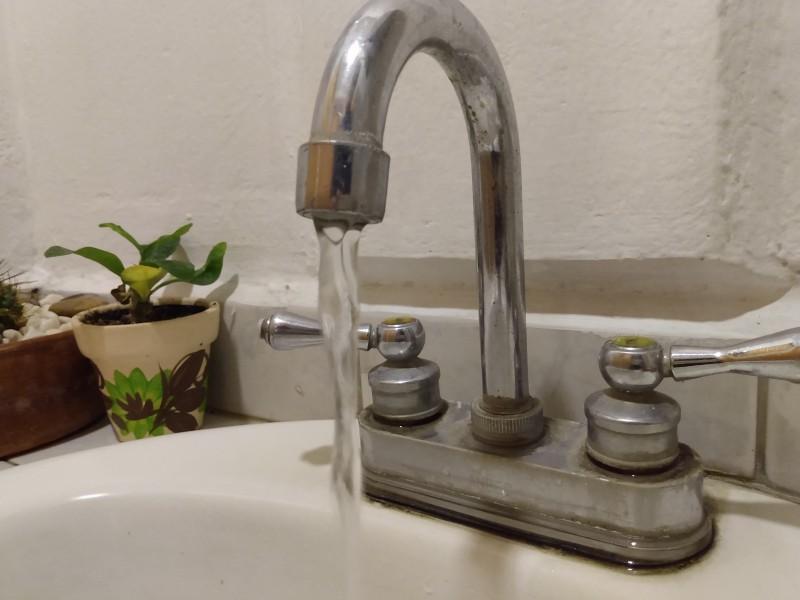 Reducción suministro de agua afectará 20 colonias