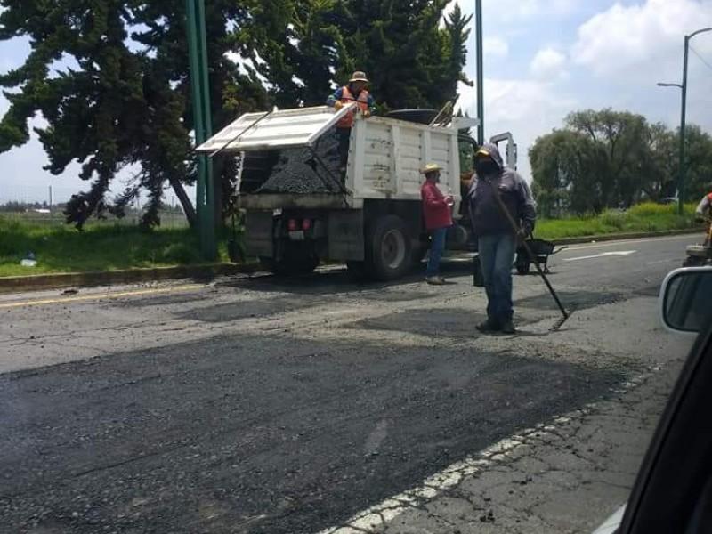 Reencarpetamiento de la Toluca-Tenango por exigencia social