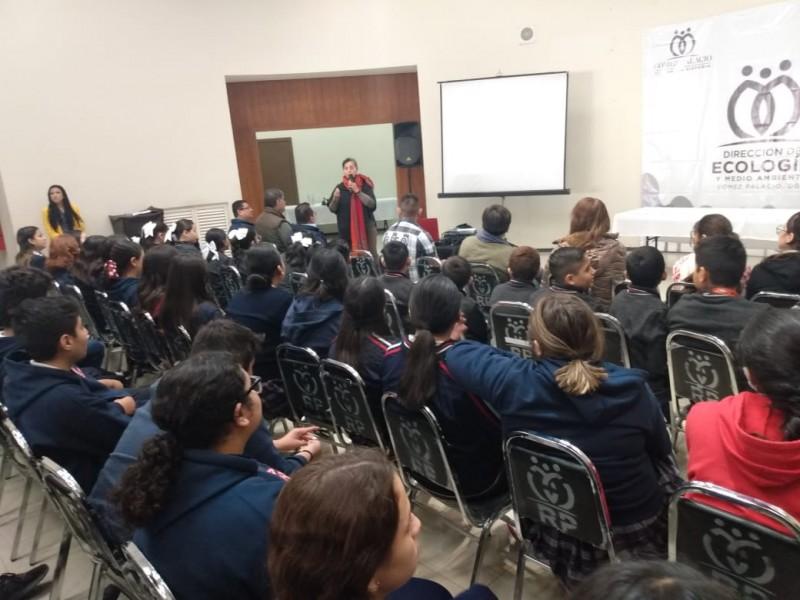Reforzarán educación ambiental en Gómez Palacio