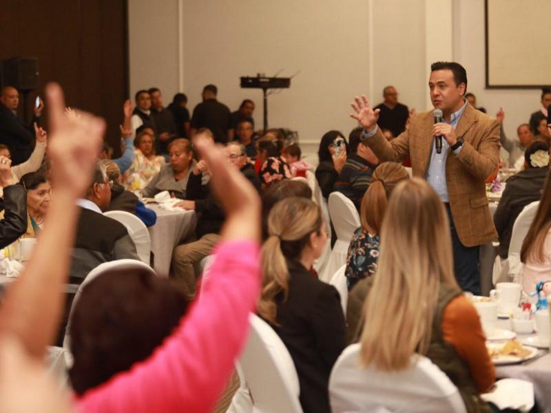 Reforzarán programas y obras en Querétaro