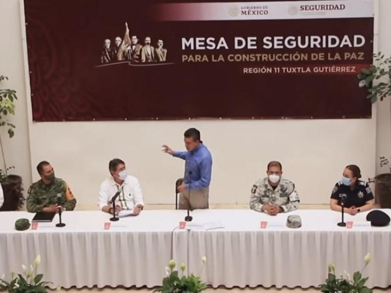 Refrenda gobierno de Chiapas apoyo a cuerpos policiacos