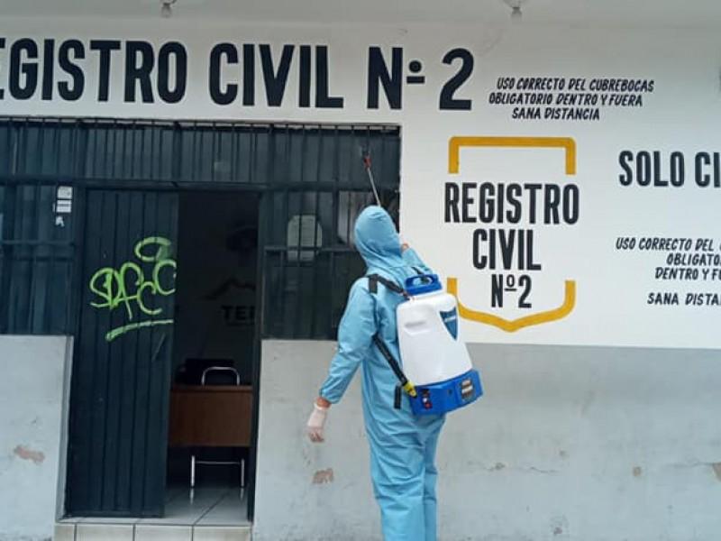 Refuerza ayuntamiento de Tepic medidas preventivas contra el COVID-19