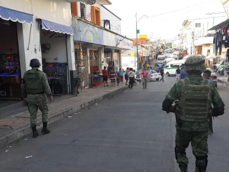 Refuerza INM y GN operativos en Tapachula