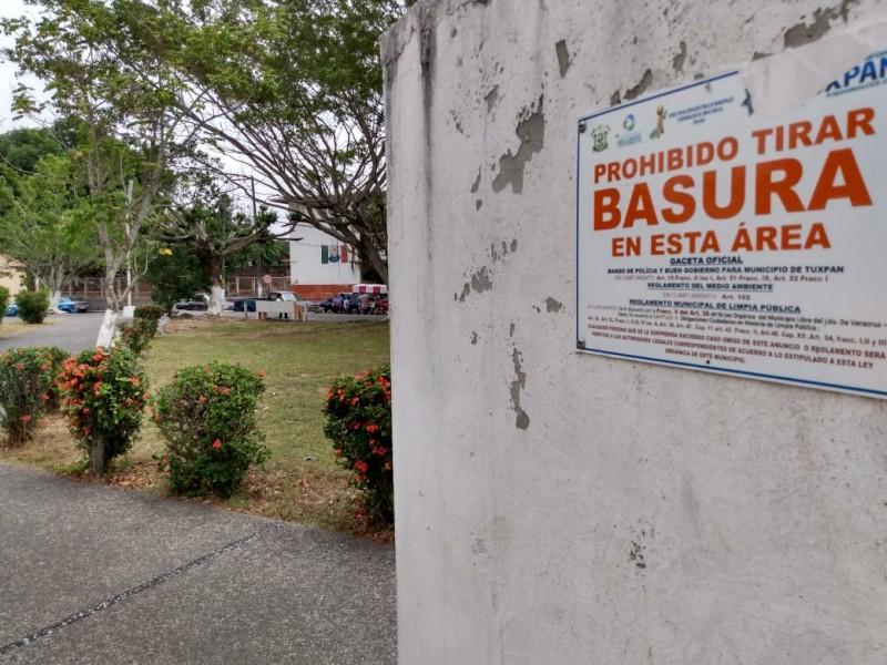 Refuerzan mantenimiento en espacios públicos