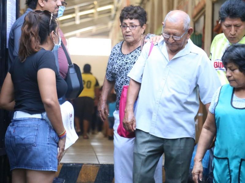 """Refuerzan medidas preventivas contra Covid-19 en el mercado """"Ignacio Zaragoza"""""""