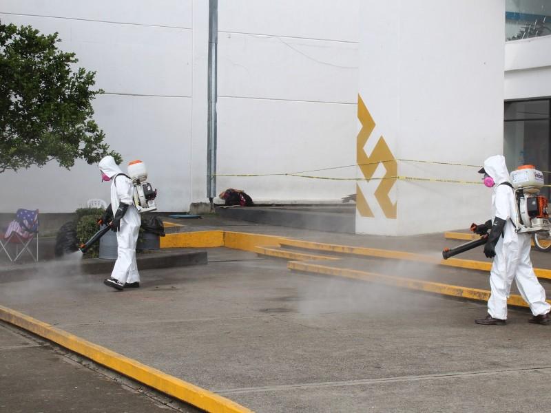 Refuerzan medidas sanitarias en Poza Rica