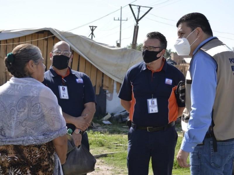 Refuerzan seguridad y apoyos en zonas vulnerables