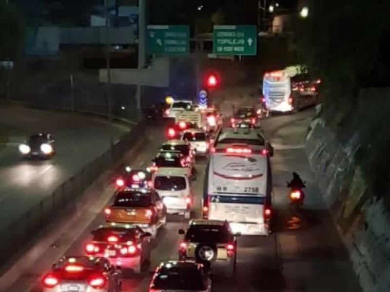 Registra autopista México-Cuernavaca mayor salida de autos