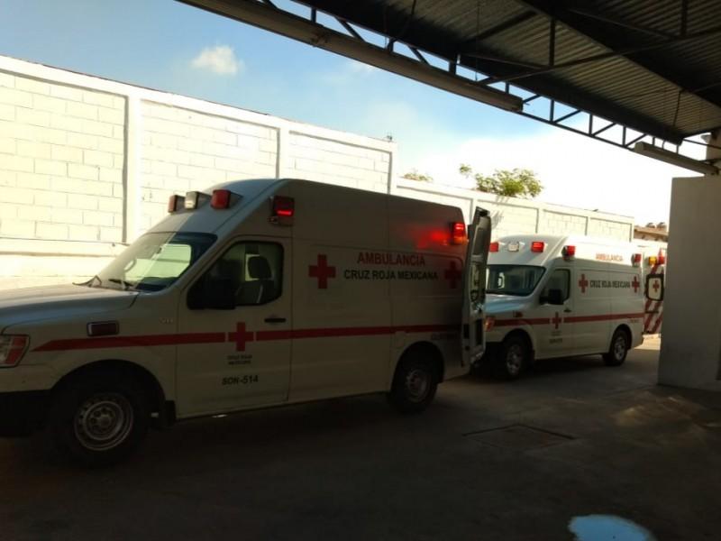 Registra Cruz Roja baja actividad durante contingencia