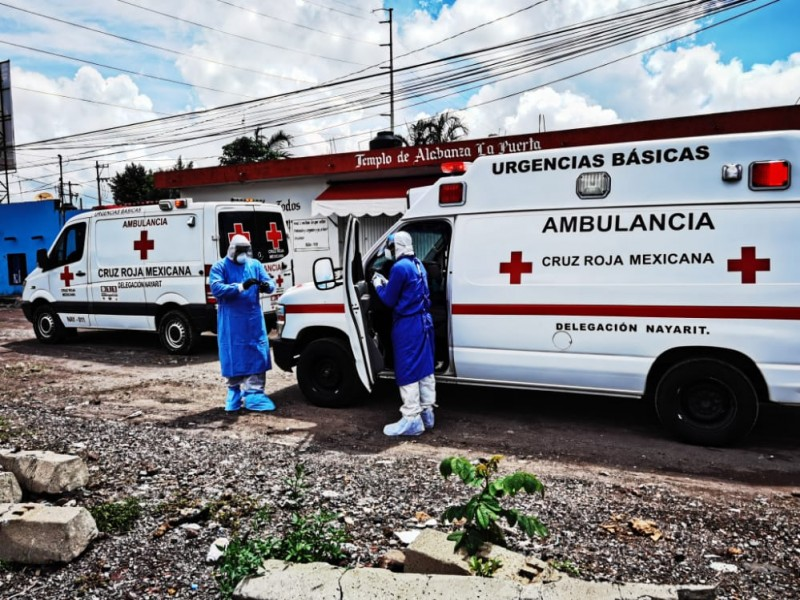 Registra Cruz Roja primer contagio de COVID-19