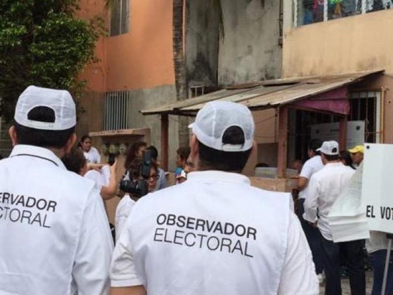 Registra INE declive de observadores electorales, participación ciudadana baja 75%